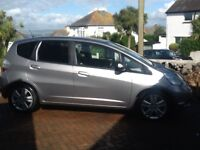 Honda Jazz 1.4 EX top of the range with panoramic roof and tinted windows, Alloy Wheels
