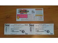 CarFest South Sunday Adult Tickets x2 (pair)