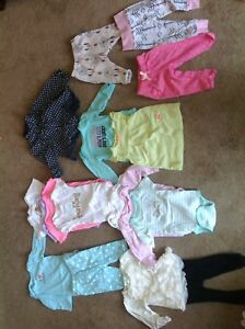 Excellent baby girl clothing lots
