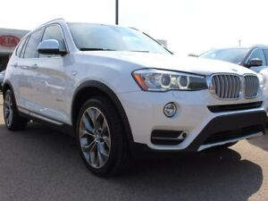 2015 BMW X3 TWIN TURBO, PANORAMIC SUNROOF, HEATED SEATS