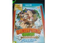 Donkey Kong Country Wii U game