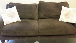 Comfortable, and Gently Used Brown Couch