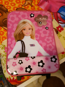 Barbie wheeled luggage