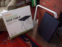 Halfords Camping table - as new coffee table size