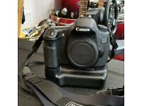 Canon 60d + battery pack