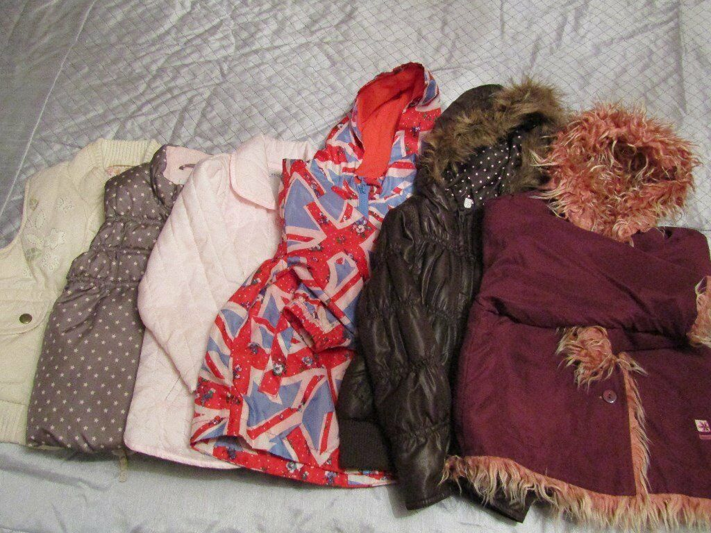 Girls Winter Jackets Coats. Some brand new. Size 2 3. Designer boutiquein Lenzie, GlasgowGumtree - Beautiful girls jackets. My little one had so many some of them werent used. £6 each. Jacket on right sold. Please see my other listings for lots of bargains. Smoke and pet free home. Collection from Lenzie
