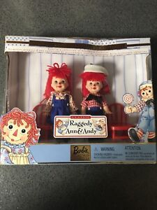 Raggedy Ann & Andy Barbie collector
