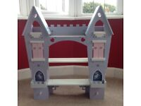 Fairytale princess shelf unit with secret compartments