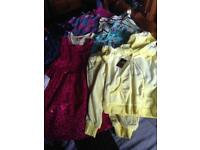 Bundle girls clothes 6 to 8 yr