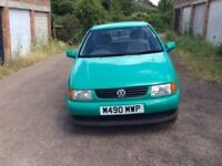 Lovely Green Polo. No expense spared in maintenance but now clutch slipping.MOT.