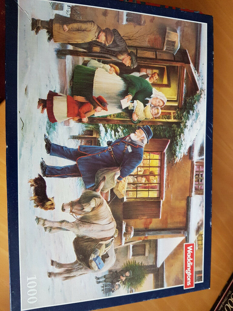 Waddingtons Festive Jigsaw Puzzle 1000 Piece
