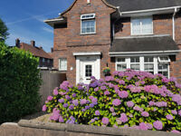3 Bedroomed semi, large gardens. detached garage development potential Stoke on Trent