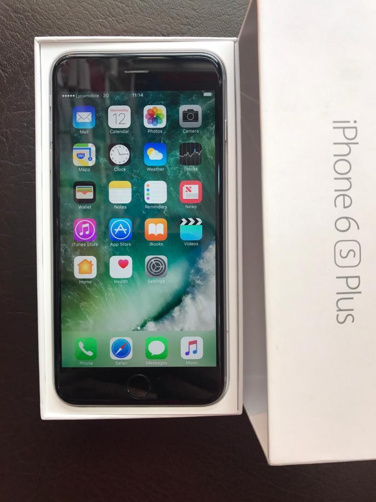 iPhone 6S PLUS128 GB used but in pristine condition Available in Space Grey Colourin Ealing, LondonGumtree - iPhone 6S PLUS 128 GB Available in Space grey Colour. It has a minor hairline crackAs you can see in the pic but doesnt effect the use of the phone. Box Contains;iPhone 6s Plus Apple EarPods with Remote and Mic Lightning to USB Cable USB Power Cable....