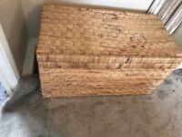 Wick storage basket