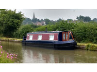 SOLD SOLD SOLD - 35ft 1997 Liverpool boats Narrowboat £24500 new blacking, paint, carpets throughout