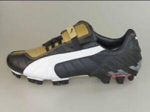 PUMA v-Kat III GCi FG Black Soccer Cleats