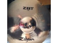 18 inch zildjian crash cymbal brand new