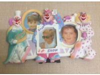 Plaster Clown theme 3 section Photo Frame