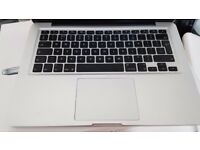 APPLE MACBOOK UNIBODY INTEL CORE 2 DUO 2GHZ 8GB RAM 160GB HDD WIFI WEBCAM