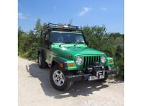 Jeep Wrangler 4.0 Sport. This is a genuine example that has been very well serviced and maintained.