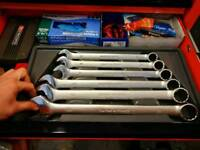 Blue point (snap on) combination spanners