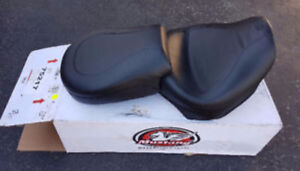 Brand New in box Mustang 2pc Wide Vintage Touring Seat