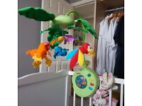 Baby mobile Jungle theame