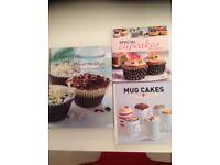 Cupcake cookery books.