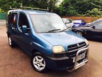 Fiat doblo 1.9 diesel can b use as a van long MOT 995