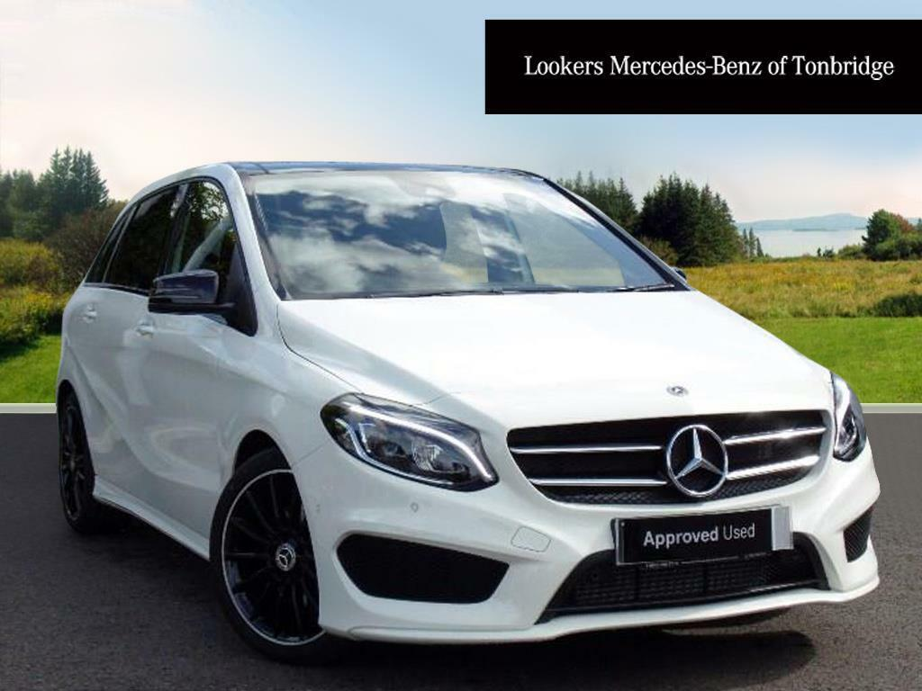 mercedes benz b class b 200 d amg line premium plus white 2017 07 17 in tonbridge kent. Black Bedroom Furniture Sets. Home Design Ideas