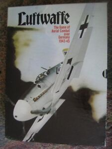 LUFTWAFFE Bookcase Game, Aerial Combat over Germany, $25