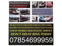WANTED MOT FAILURES SCRAP AND DAMAGED CARS VANS OR WHY! CASH PAID SAME DAY! £150-£3000! 07854699959!