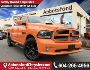2017 RAM 1500 Sport ACCIDENT FREE!