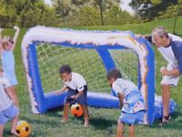 Inflatable Football Goal: Brand New