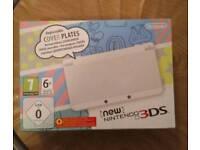 NEW 3ds white console