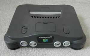 Nintendo 64 game system with cables 1 game and 1 controller