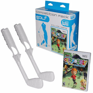 Wii Crazy Golf Competition, Game Still Sealed in Box