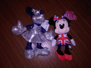 2 Minnie mouse Limited edition