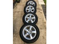 16 Inch Honda Alloys and Tyres