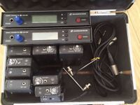 Sennheiser wireless equipment
