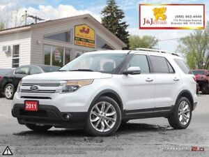 2011 Ford Explorer Limited D.Moonroof,Adap.Cruise,Nav.7Pass.,4X4