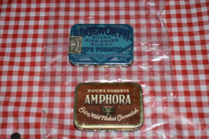 Two Antique Pipe Tobbacco Tin's - Edgeworth's and Amphora