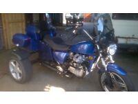 Honda cx500 trike for sale, mot November, cheap to tax& insure