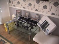 2x ps3 consoles 500gb and 40gb perfect working order very quite consoles sell or swop