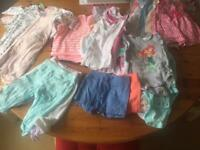 Baby girl 0-3 month summer clothes