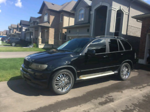 2003 BMW X5 3.0L etested