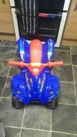 Blaze quad bike
