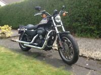 Harley Davidson 883r 2006 Black, stage 1