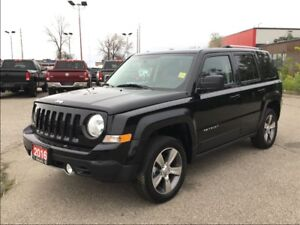2016 Jeep Patriot NORTH**HIGH ALTITUDE**LEATHER**SUNROOF**BLUETO