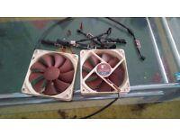 2x Noctua NF-P12 fans for PC + accessories